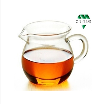 250ml borosilicate glass pitcher /pyrex glass pitcher /small glass pitcher /glass water filter pitcher /water filter pitcher
