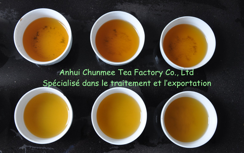 Africa green china chunmee broken tea manufacture