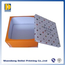 Custom Printed Corrugated Paper Cake Packaging Boxes