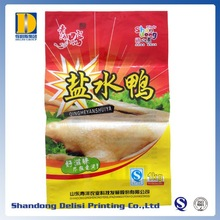 Colorful Printing Outside Meat Products Packaging Plastic Laminated Bags