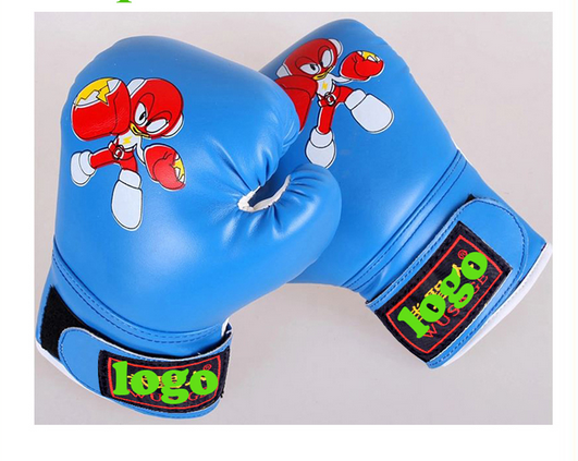 hot sale PU leather kids boxing gloves for training