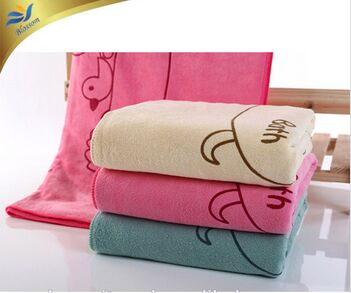 80%polyester with 20% polyamide microfiber hand towel
