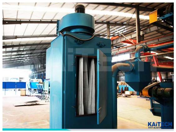 Shandong kaitai Q326 roller diameter 1000 Tumble Belt type Shot Blasting Machine
