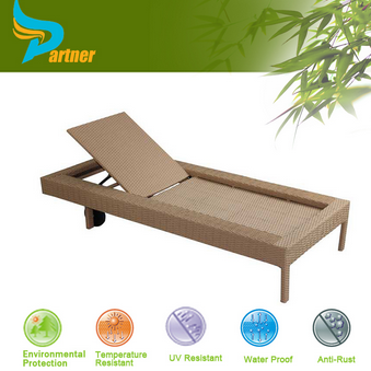 New Design Luxurious Comfortable Bali Rattan Outdoor Lounge Furniture