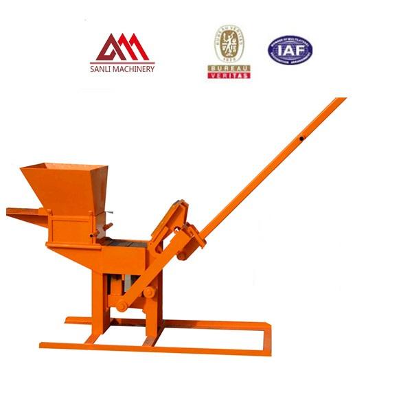 Low cost small clay brick making machine QMR1-40 / 2-40 brick making machine prices