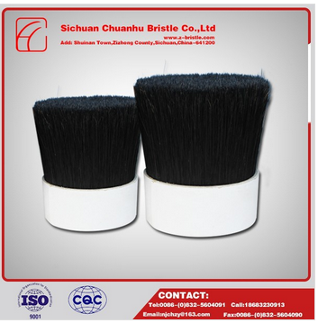 chungking black boiled bristle