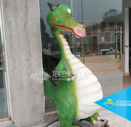 Factory custom cartoon robot dinosaur