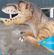 High simulation silicon rubber artificial dinosaur