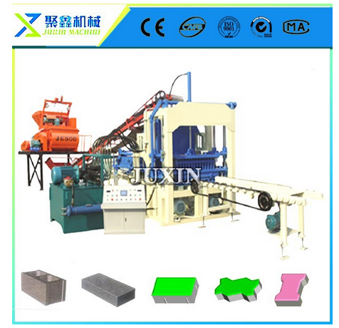 Construction Machine / cement bricks making machine / germany paver QT4-15C