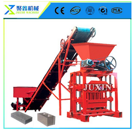 brock brick making machine / concrete block maker / profitable projects of block plant QTJ4-35b2