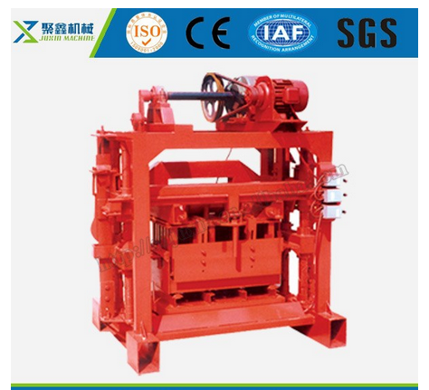 qtj4-40B2 concrete block making machine / brick making machine / manual brick making machine