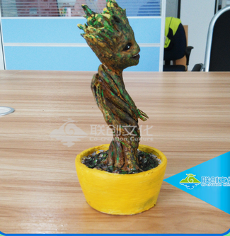 Special desk decoration model small resin christmas figurines