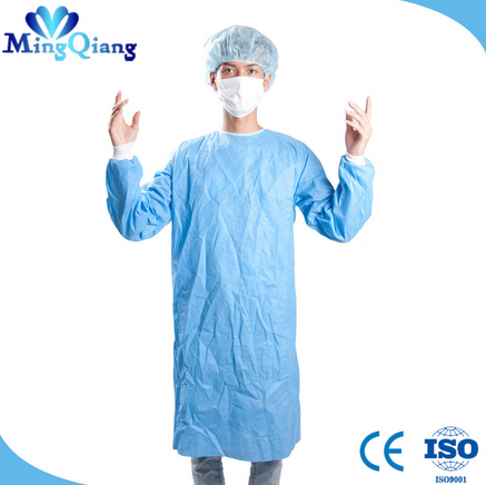 Nurse Uniform Non Woven China Customized Surgical Gown