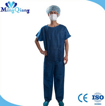 2015 Disposable Scrub Suit for Men