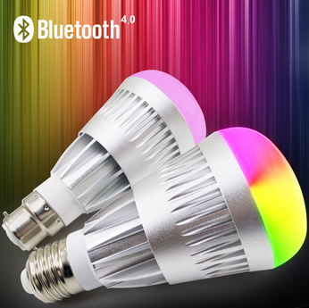 Music Alarm Group 10W Bluetooth LED Bulb,Bluetooth RGB LED Bulb,Bluetooth Smart LED Light Bulb