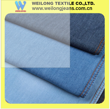 B30781-4G-A factory wholesale slub thin 5 oz 100%cotton denim jeans fabric