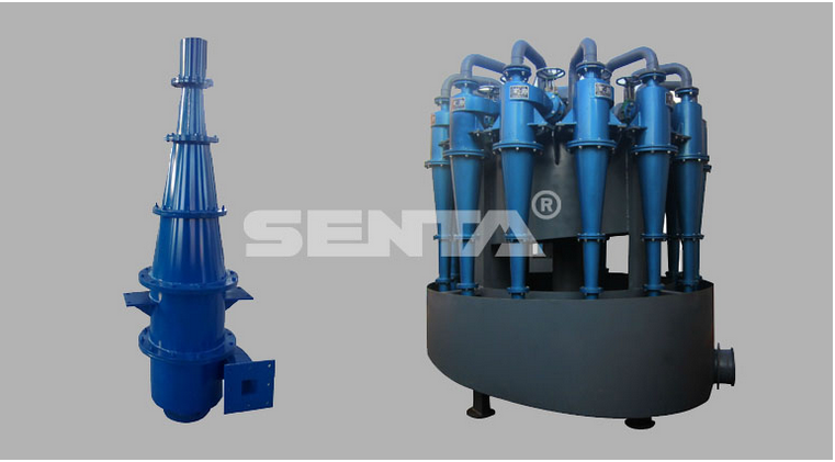 Hydrocyclone Sand Filter Concentrator