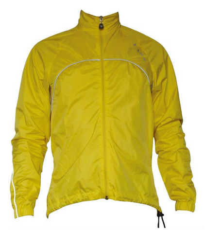 Cycling Rain Coat with Reflective Piping