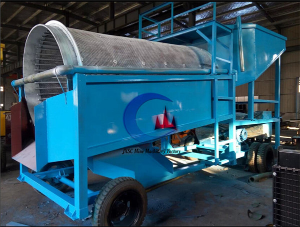 new desgined gold processing equipment gold washing drum sieve with 150T/H