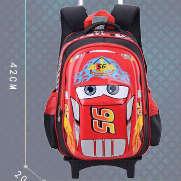 Hunan factory supply Car shape kids 3D EVA school trolley bag for teenages 2015