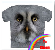latest 3D T shirt short sleeve animal t shirt 100% polyester round neck t shirt