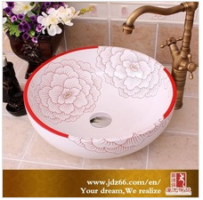 ceramic bathroom face basin sinks