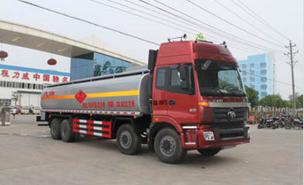Foton 8x4 oil tanker transport truck