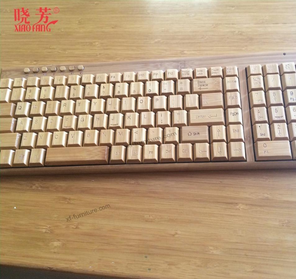 bluetooth bamboo keyboard for mini