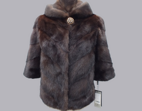 High quality fashion winter women outwear long style mink Fur coat