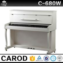 88 keys digital upright piano wooden flexible keyboard white digital upright piano