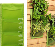 Vertical garden wall pocket planter