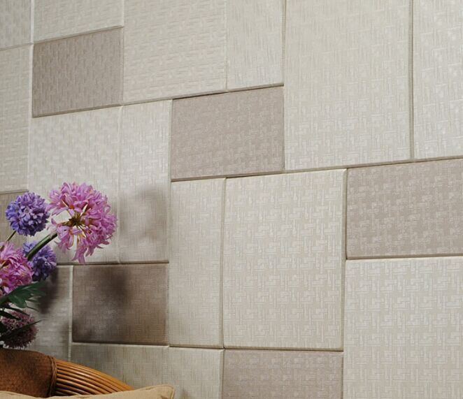 Hokkaido china home decor wholesale faux leather polyurethane price 3d decorative wall panel