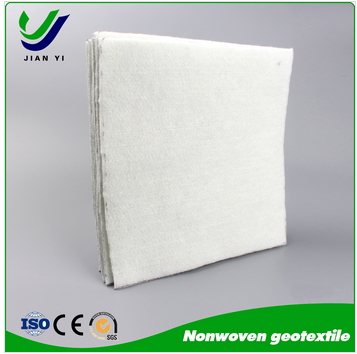 Nonwoven needle punched geotextile water filter fabric