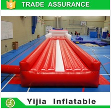 Best quality inflatable air track gymnastic mats inflatable trumble track