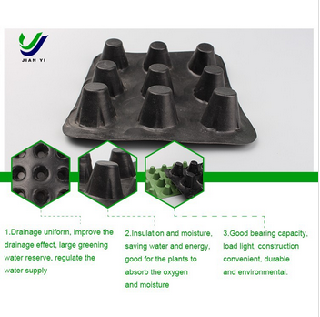 Factory direct supply green roof drainage board on sale