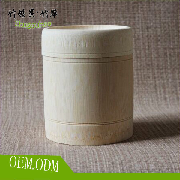 100% eco-natural rice food custom bamboo rice food container
