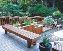 2015 Environmental Protection Product Outdoor Bamboo Flooring , High Gloss Bamboo Flooring
