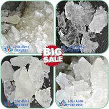 Factory sales Crystal lump Potassium Alum as an astringent