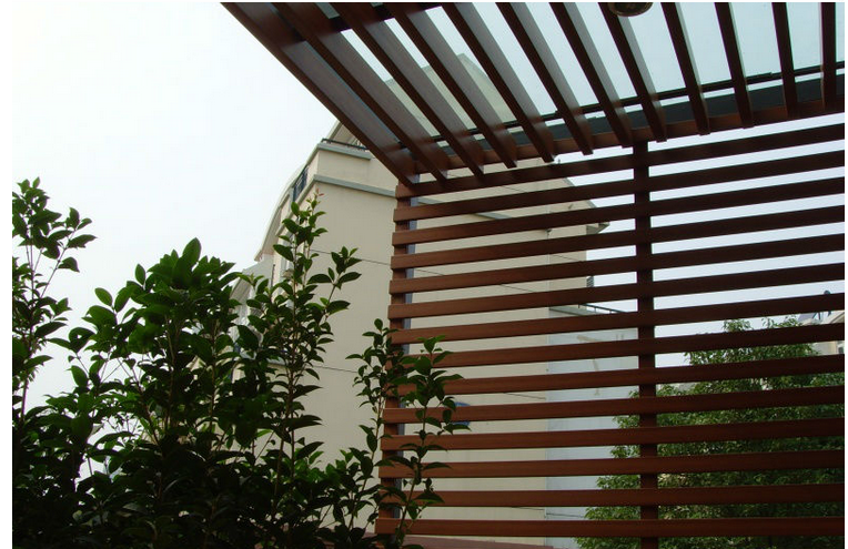 energy saving WPC pergola / manufacturer / free samples pergola
