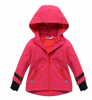 Phibee hot breathable color kids softshell