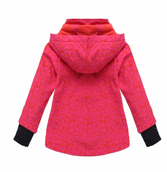 Phibee hot breathable color kids softshell