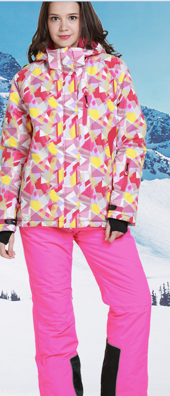 Phibee 2015 women's ski suit ski & snow wear Direct factory sales cheap stock