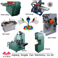 round can making production line for 1-5L metal cans