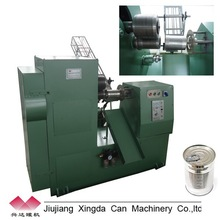 Automatic food round tin container machine