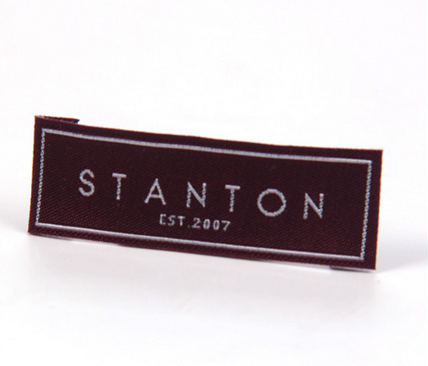 Sinicline Free Sample Custom Design Clothing Woven Label