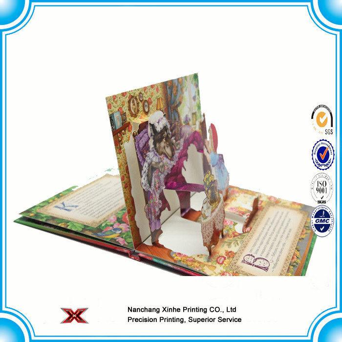Low price Custom Hardcover Book Printing