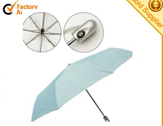 High quality mini 3 folding auto open and close umbrella