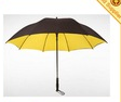 advertisement outdoor umbrella double-deck straight bone umbrella