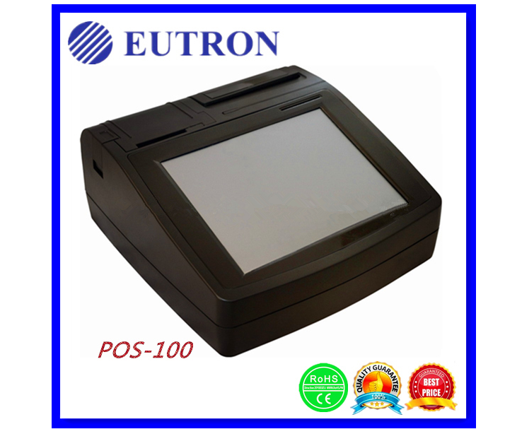 multiply all in one 10.4  LCD Touch screen POS terminal with thermal printer