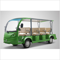 2015 New design 11 Seater Electric Sightseeing tour passenger bus